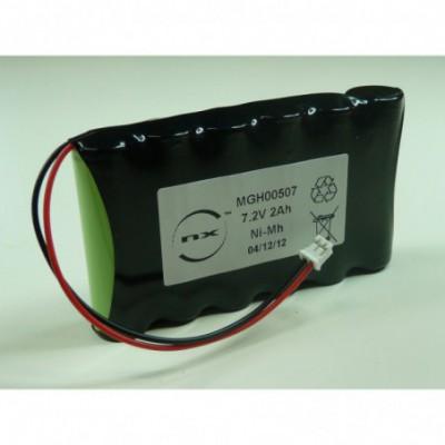 Batterie Nimh 6x AA 6S1P ST1 7.2V 2Ah JST