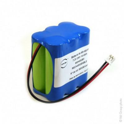 Batterie Nimh 6x AA 6S1P ST2 7.2V 2Ah JST