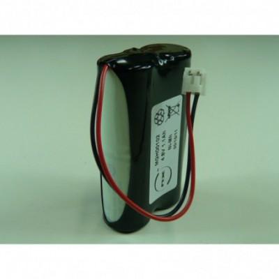 Batterie terminaux bancaire 4x 2-3A NX 4S1P ST5 4.8V 1.4Ah JST