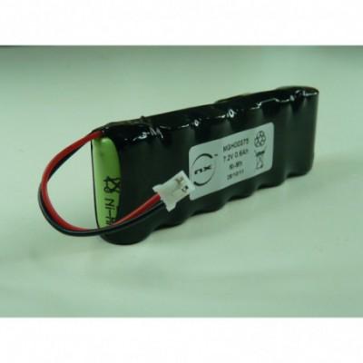 Batterie Nimh 6x 2-3AA 6S1P ST1 7.2V 600mAh JST