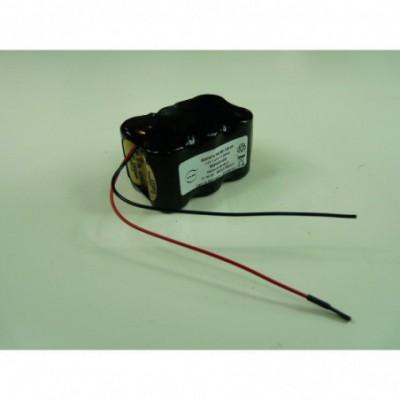 Batterie Nimh 6x 2-3A NX 6S1P ST2 7.2V 1.4Ah F