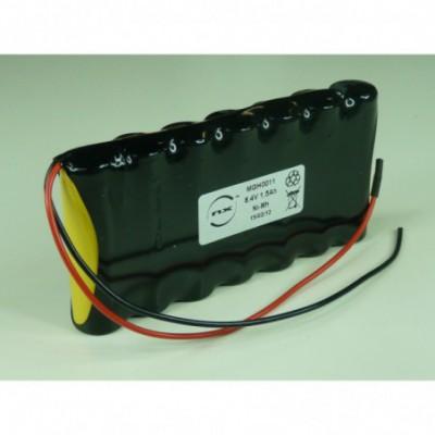 Batterie Nimh 7x AA 7S1P ST1 8.4V 1.7Ah F150