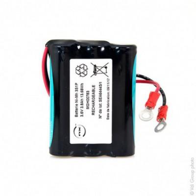Batterie Nimh 3x 4-3A 3S1P ST1 F200 3.6V 3.8Ah COSSE