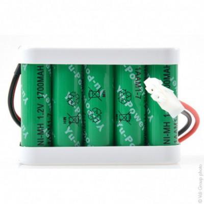 Batterie Nimh 10x AA 10S1P ST2 12V 1700mAh AMP