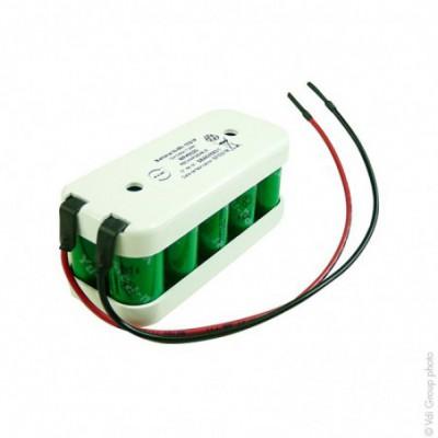 Batterie Nimh 10x 2-3AA 10S1P ST2 12V 600mAh Fils