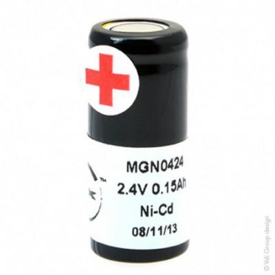 Batterie Nicd 2x 1-3AA NX 2S1P ST4 2.4V 150mAh FT