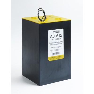 Pile depolarisation air saline AD512 1.4V 350Ah