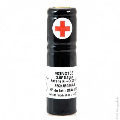 Batterie Nicd 3x 1-3AA NX 3S1P ST4 3.6V 150mAh S