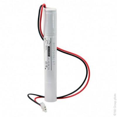 Batterie eclairage secours 4xSC ST4 Molex 4.8V 1.6Ah