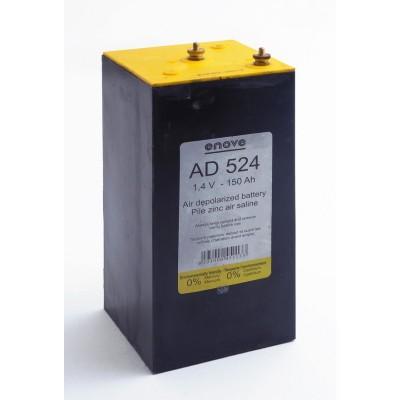 Pile depolarisation air saline AD524 1.4V 150Ah