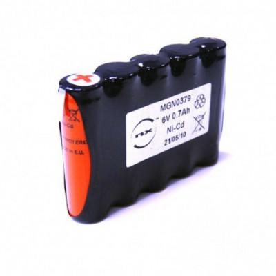Batterie Nicd 5x AA VRE 5S1P ST1 6V 700mAh HBL