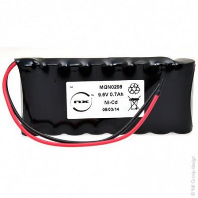 Batterie Nicd 8x AA 8S1P ST1 9.6V 700mAh F150