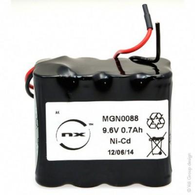 Batterie Nicd 8x AA 8S1P ST2 9.6V 700mAh F110