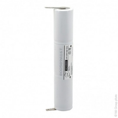 Batterie eclairage secours 3xD ST4 Faston 6.3mm 3.6V 4Ah