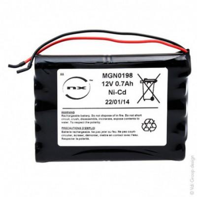 Batterie Nicd 12x AA 10S1P ST5 12V 700mAh F110