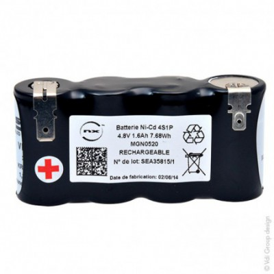 Batterie eclairage secours 4x SC VNT 4S1P ST1 4.8V 1600mAh FAST