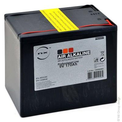Pile depolarisation air alcaline 9V 170Ah