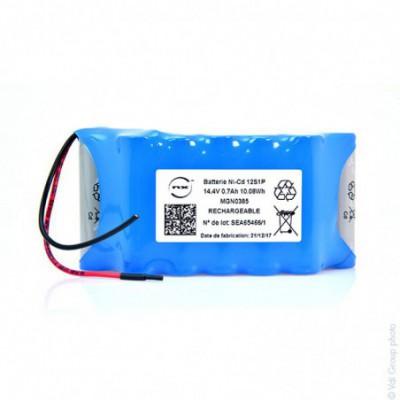 Batterie Nicd 12x AA 12S1P ST7 14.4V 700mAh F80