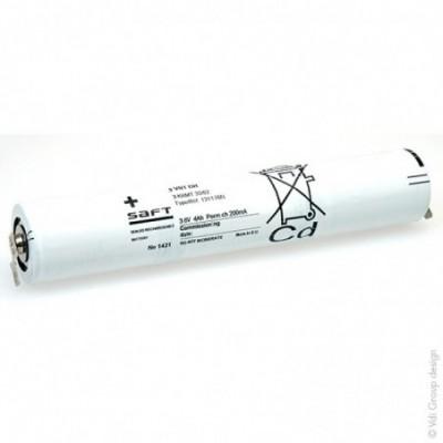 Batterie eclairage secours 3 VTD 70 ST4 3.6V 4Ah