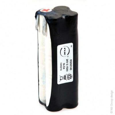 Batterie Nicd 20x 1-3AA 20S1P ST5 24V 150mAh T2