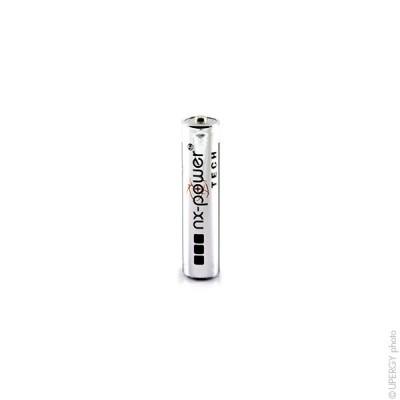 Pile alcaline LR03 - AAA Nx-Power Tech Boite de 10 1.5V 1.46Ah