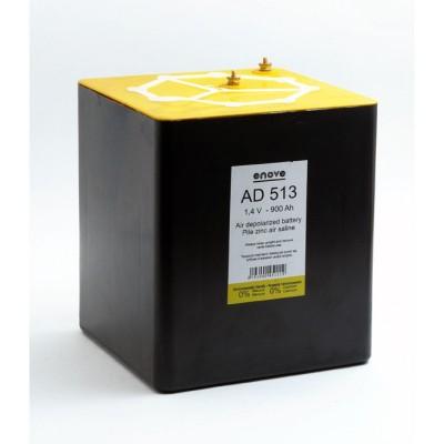 Pile depolarisation air saline AD513 1.4V 900Ah