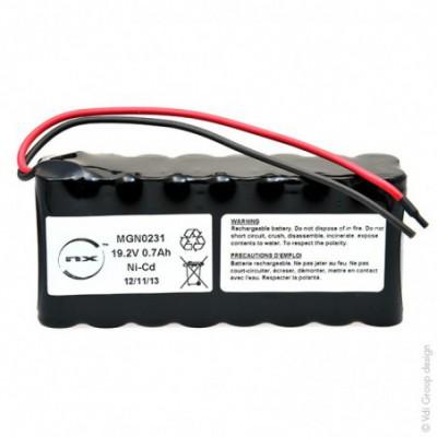 Batterie Nicd 16x AA 16S1P ST2 19.2V 700mAh F150