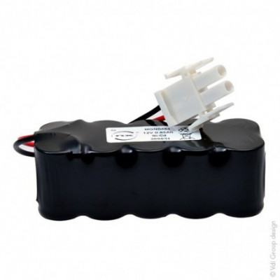 Batterie Nicd 10x 2-3A 10S1P ST2 12V 0.65Ah AMP
