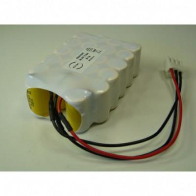 Batterie Nicd 22x 1-2AA 22S1P ST3 26.4V 270mAh JST
