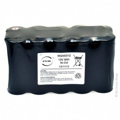 Batterie Nicd ST2-SG- 12V 8Ah FAST