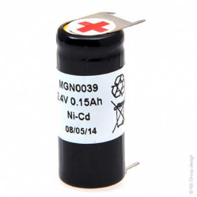 Batterie Nicd 2x 1-3AA NX 2S1P ST4 2.4V 150mAh P3