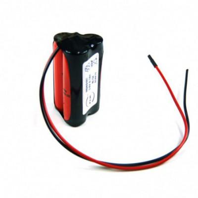 Batterie Nicd 3x AA 3S1P ST3 3.6V 700mAh Fil