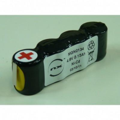Batterie Nicd 4x 1-3AA NX 4S1P ST1 4.8V 150mAh T2