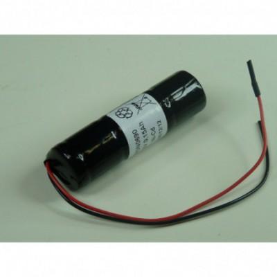 Batterie Nicd 3x 1-3AA 3S1P ST4 3.6V 150mAh Fils