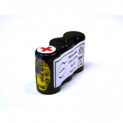 Batterie Nicd 3x 1-2AA 3S1P ST1 3.6V 270mAh HBL