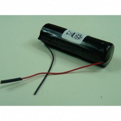 Batterie Nicd 3x 1-3AA 3S1P ST4 3.6V 150mAh F50