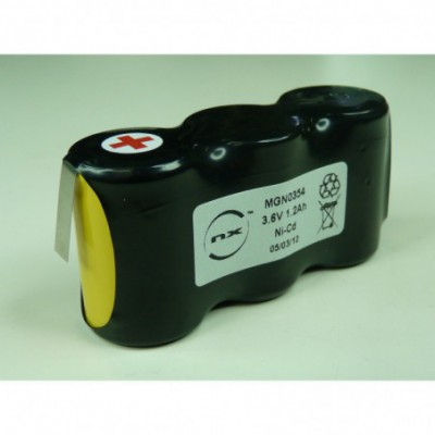 Batterie Nicd 3x 4-5SC NX 3S1P ST1 3.6V 1200mAh HBL