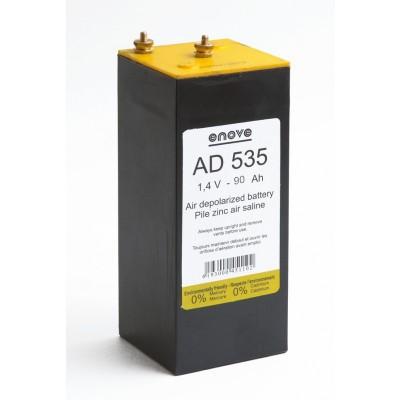 Pile depolarisation air saline AD535 1.4V 90Ah