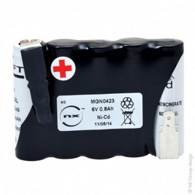 Batterie eclairage secours 5x AA VST 5S1P ST1 6V 800mAh Fast