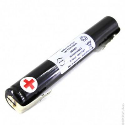 Batterie eclairage secours 3x AA HT 3S1P ST4 3.6V 800mAh F4.8