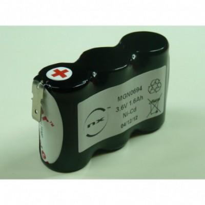 Batterie Nicd 3x SC HT 3S1P ST1 3.6V 1.6Ah Fast