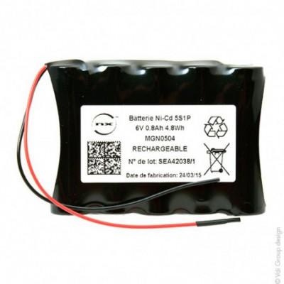 Batterie Nicd 5-VTAA 6V 800mAh F100