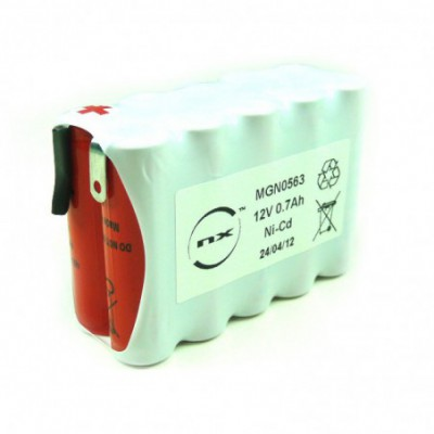 Batterie Nicd 10xAA 10S1P ST2 12V 700mAh COSSE