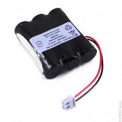 Batterie eclairage secours 3x AA 3S1P ST1 3.6V 0.7Ah FC