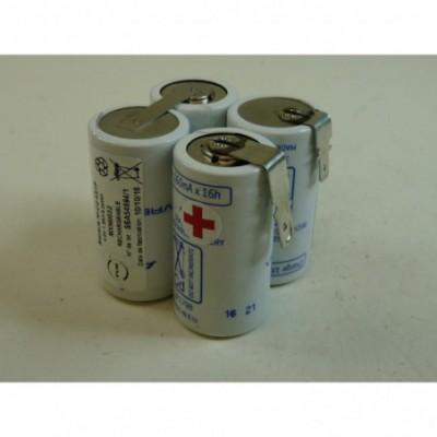 Batterie Nicd 4 Cs 1300 4.8V 1.6Ah