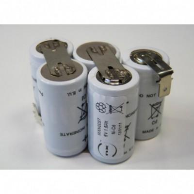 Batterie Nicd ABACX 6V 1.6Ah