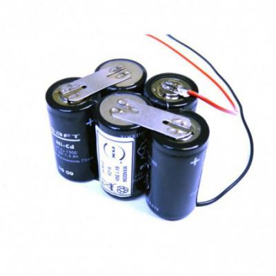 Batterie Nicd ST7-F150 6V 1.6Ah