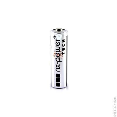 Pile alcaline LR6 - AA Nx-Power Tech Boite de 10 1.5V 3.4Ah