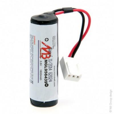 Batterie systeme alarme BATLI04 MB 3.6V 1.8Ah