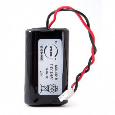Batterie lithium 2x AA LS14500 2S1P ST1 7.2V 2.6Ah JST